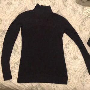 Lulu lemon mock neck sweater